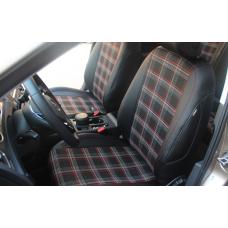 Чехлы на сидения в стиле GTI для Volkswagen Polo / Golf 7