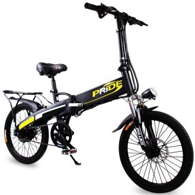 Купить Складной электро-велосипед PrideX1 по выгодной цене