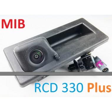 Оригинальная MIB камера в ручку двери с омывателем для магнитолы RCD 330 Plus