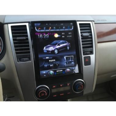 Android магнитола 10,4 дюйма в стиле Tesla для Nissan Tiida
