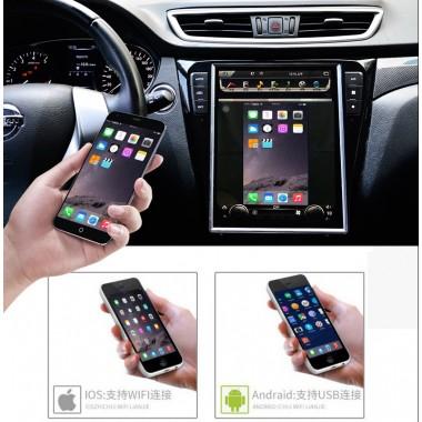 Android магнитола 10,4 дюйма в стиле Tesla для Nissan X-trail