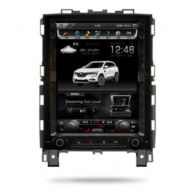 Android магнитола 10,4 дюйма в стиле Tesla для Renault Koleos