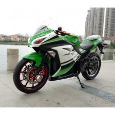 Электро спорт байк Kawasaki Ninja