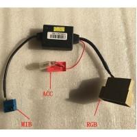Конвертор с RGB на MIB для штатных магнитол RCD 330 и других