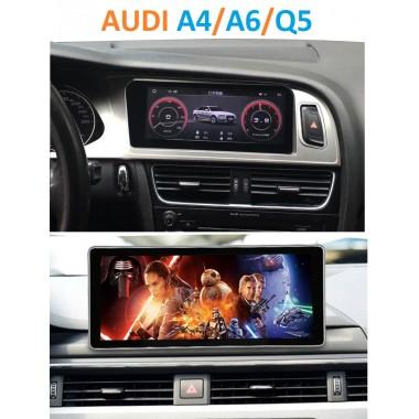 Качественная Android магнитола в штатное место для Audi A4/A6/Q5