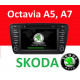 Android магнитола для Skoda Octavia A5 /A7