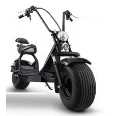 Мощный электрический скутер в стиле Харлей Дэвидсон