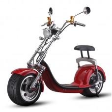 Супер стильный электроскутер в стиле Harley Davidson