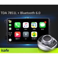 Android магнитола с CarPlay + манипулятор iDrive для Volkswagen