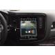 Android магнитола 10,4 дюйма в стиле Tesla для Mitsubishi Outlander, BYD S6