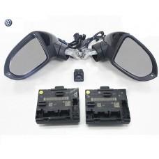 Комплект боковых зеркал с электроскладыванием для Volkswagen Passat B8