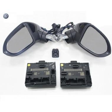 Комплект боковых зеркал с электроскладыванием для Фольксваген Passat B8