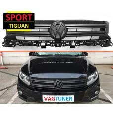 Передняя решетка Sport для Volkswagen Tiguan
