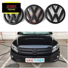 Комплект черных значков Sport для Volkswagen Tiguan