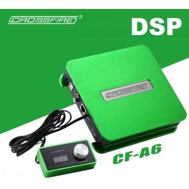 6-канальный цифровой звуковой DSP процессор усилитель Crossfire CF-A6