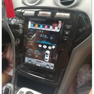 Android магнитола в стиле Tesla для Ford Mondeo 2007-2010
