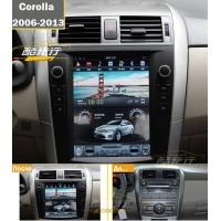 Андройд магнитола в стиле Tesla для Toyota Corolla 2006-2013