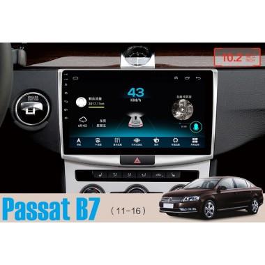 Android магнитола с большим IPS экраном для Фольксваген Passat B6, B7, CC