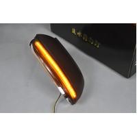 Бегающие LED поворотники в боковые зеркала для Фольксваген Jetta, Passat B7, B8, CC
