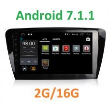 Android  7 магнитола +4G в штатное место для Skoda Octavia A7