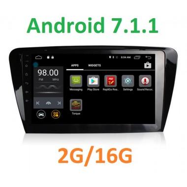 Android  7 магнитола +4G в штатное место для Шкода Octavia A7