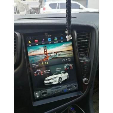 Android магнитола в стиле Tesla для Kia Optima