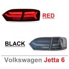 Задняя LED оптика с бегающим поворотником для Фольксваген Jetta 6