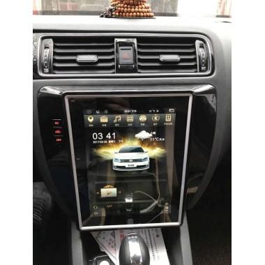 Android магнитола 10,4 дюйма в стиле Tesla для Volkswagen Jetta