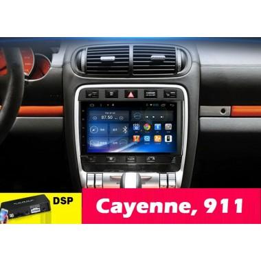 Андройд магнитола для Porsche Cayenne, 911, Boxter