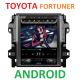 Android магнитола в стиле Tesla для Toyota Fortuner