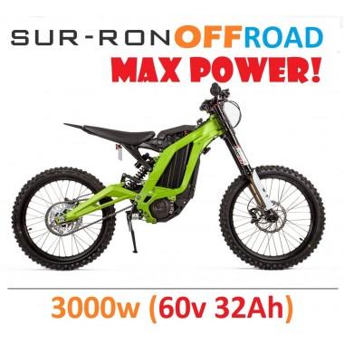 Внедорожный электропитбайк Sur-Ron 3000w (60v 32Ah)