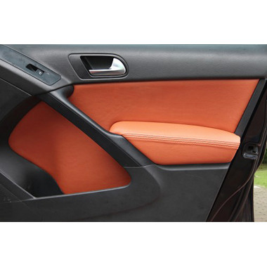 Кожаные вставки в карты дверей для Volkswagen Tiguan