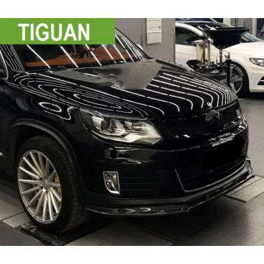 Передний сплиттер для Volkswagen Tiguan