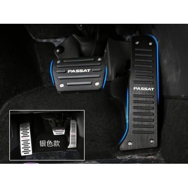 Алюминиевые накладки на педали для Фольксваген Passat B6, B7, CC