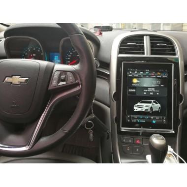 Android магнитола в стиле Tesla для Chevrolet Malibu