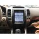 Android магнитола в стиле Tesla для Toyota Land Cruiser Prado 120