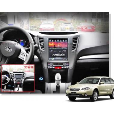 Android магнитола в стиле Tesla для Subaru Legacy 2010-2015