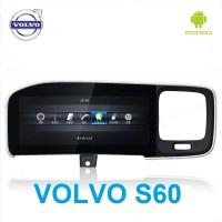Штатная магнитола на Android для Volvo S60