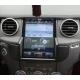 Android магнитола в стиле Tesla для Land Rover Discovery 4