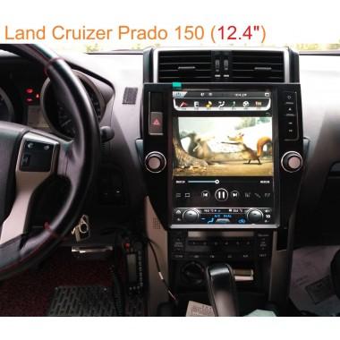 Android магнитола 10,4 дюйма в стиле Tesla для Toyota Land Cruiser Prado 150-170/200