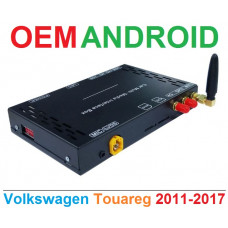 Android интерфейс с 4G для штатных мультимедиа Volkswagen Touareg 2011-2017