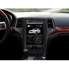 Android магнитола 13,3 дюйма в стиле Tesla для Jeep Grand Cherokee 2008-2012