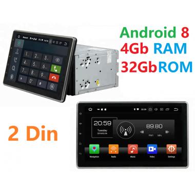 Андройд магнитола 2 din с экраном 10.1