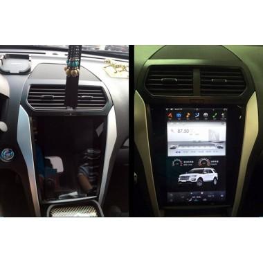Android магнитола в стиле Tesla для Ford Explorer