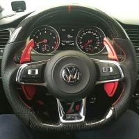 Карбоновый руль  GTI, R-line для Volkswagen Polo, Golf, Passat, Tiguan