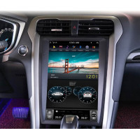 Андройд магнитола в стиле Тесла для Ford Mondeo 2013-2018