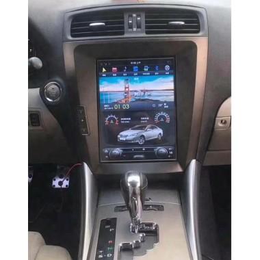 Android магнитола в стиле Tesla для Lexus IS250