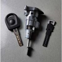 Штатный комплект замков + 2 ключа для Фольксваген Passat B6 / B7 / CC