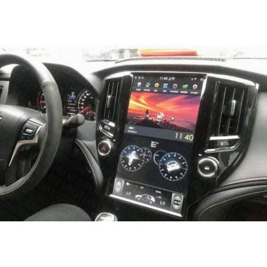 Андроид магнитола в стиле Тесла для Toyota Crown 2015-2018