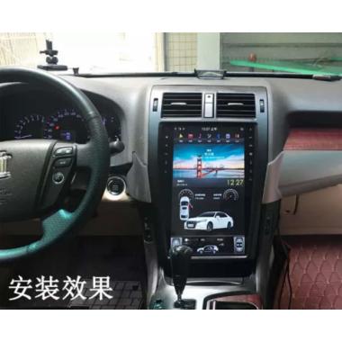 Андроид магнитола в стиле Тесла для Toyota Crown 2010-2013